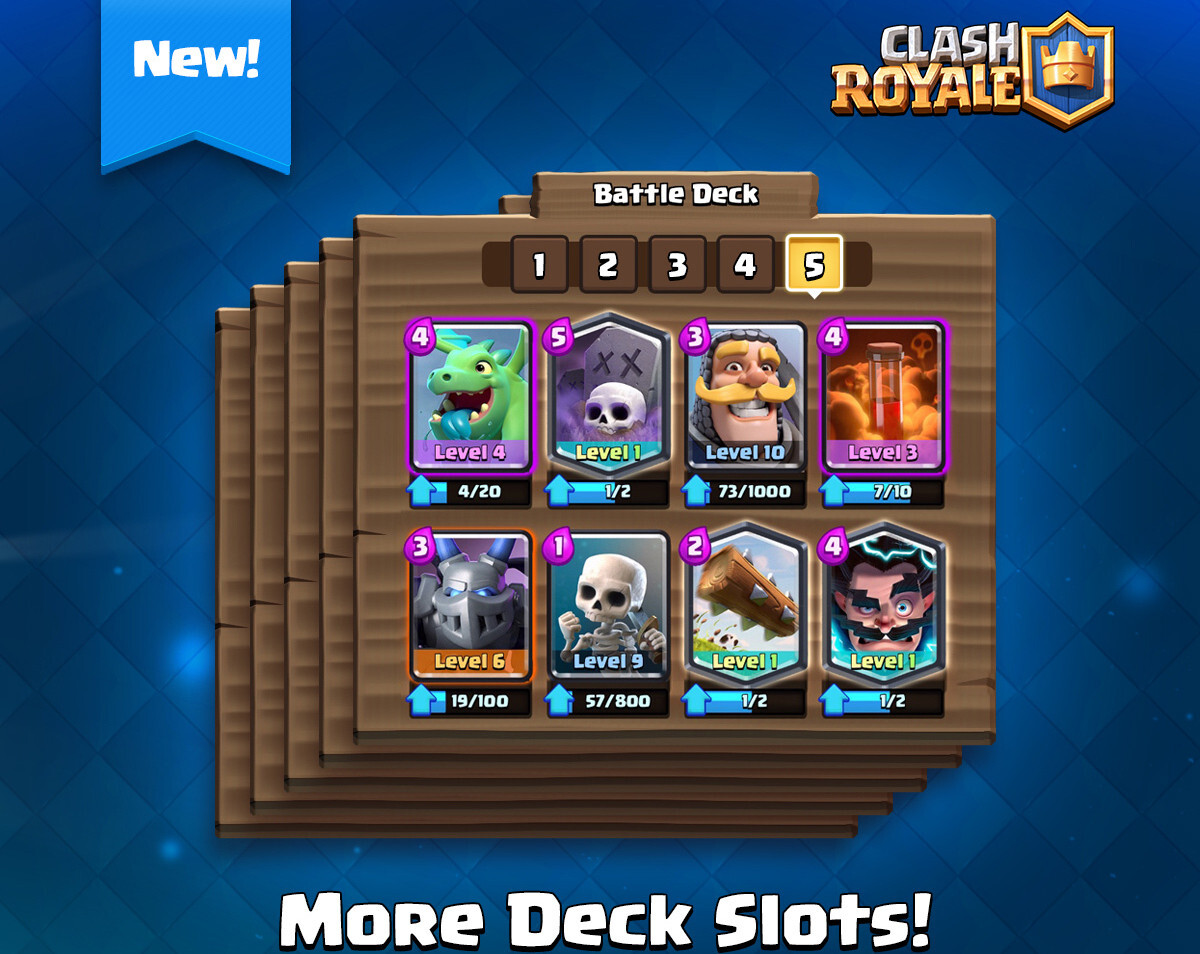Clash Royale 1 9 Update Rolling Out With Four New Cards