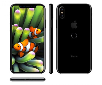 iPhone 8 based on leaked schematics