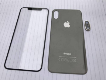 Leaked iPhone front and back panels