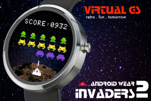 BONUS GAME! Invaders 2 for Android Wear