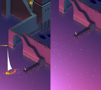 The act of letting go in Monument Valley 2