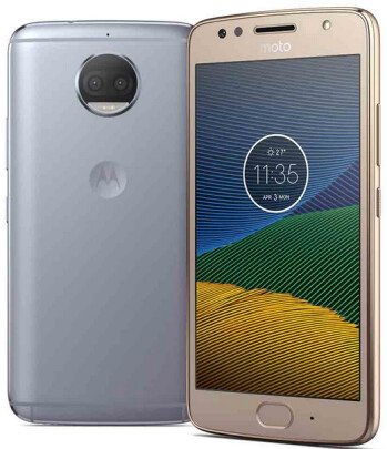 The Moto G5S+ has an all-metal build