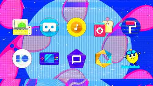 Glitch icon pack