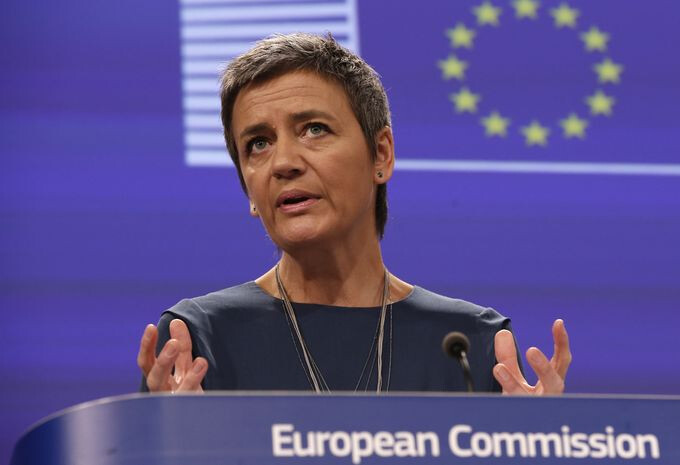 Margrethe Vestager, the European Union's competition commissioner - EU is about to slap Google with €1+ billion fine for abusing search practices