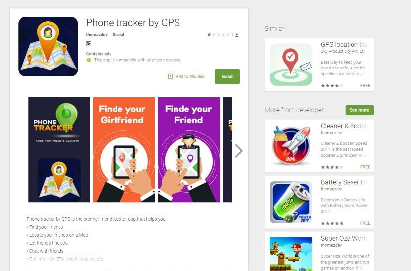 An example of an application on Google Play that contains an embedded Xavier ad library - Info-stealing malware Xavier has infected hundreds of free apps on Google Play Store