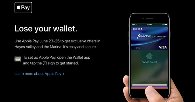 San Francisco merchants to offer promotions and discounts for Apple Pay users this week