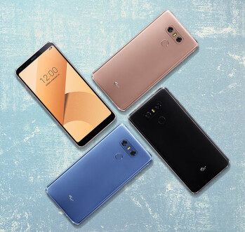LG announces G6+ with 128 GB storage, new colors and features for the G6