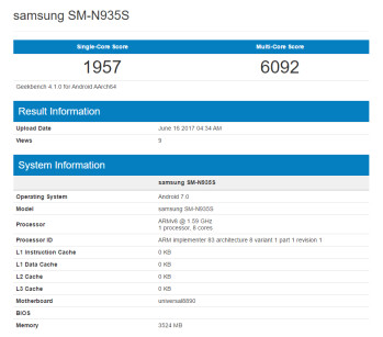 Galaxy Note 7R (FE) gets benchmarked once again, hints at more than acceptable performance