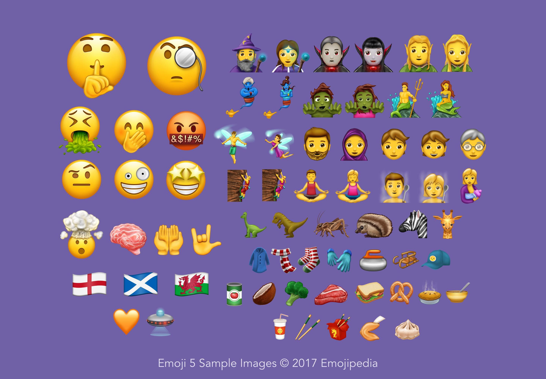 Unicode Version 10: 56 new emojis, 4 new scripts, 8518 new characters