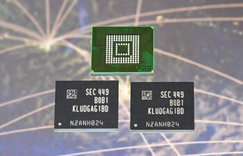 Samsung-made UFS storage chips for smartphone use