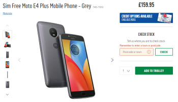 Moto E4 Plus goes on sale in the UK for £159.95