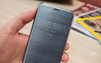 Чехол Samsung EF-QG955CBEGRU для Samsung Galaxy S8+ Clear Cover черный/прозрачный