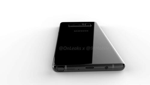 Galaxy Note 8 renders