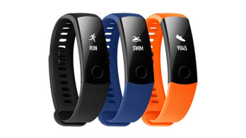 The Honor Band 3 is an entry-level fitness tracker with a sleek look