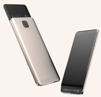 Concept renders showing what the LG V30 might look like