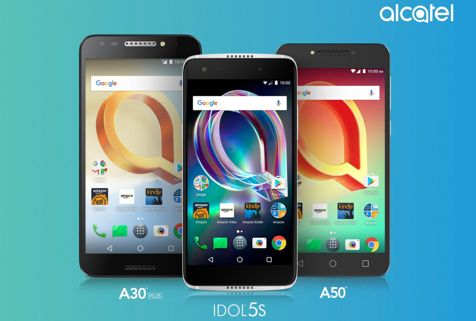 Alcatel Idol 5S, A50, and A30 Plus offer decent features at accessible prices