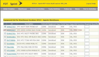 HTC Supersonic appears on Sprint internal document?
