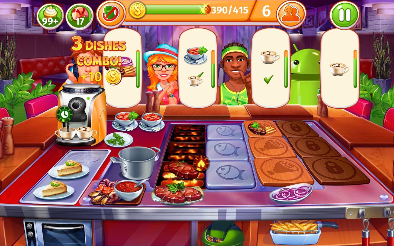Online Cooking Games