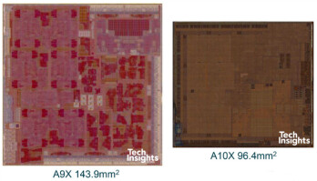 Apple's new A10X system chip in the iPad Pro is its first 10nm processor
