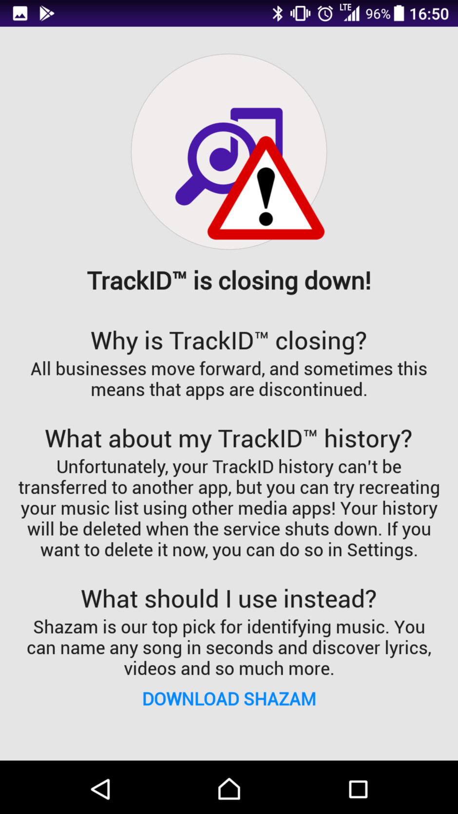 Sony's TrackID music recognition service is closing down