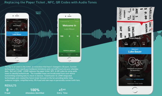 Ticketmaster will use audio data from your phone to admit you to events