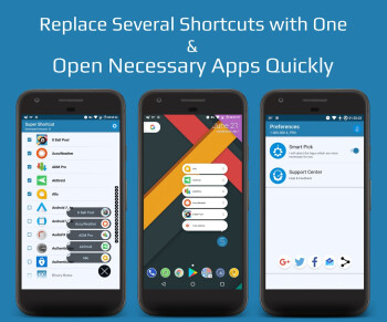 App shortcuts not enough? Make your wallpaper shine through with Super Shortcuts