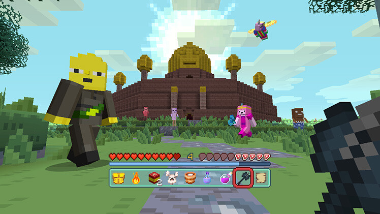 Its Adventure Time For Minecraft Pocket Edition Players