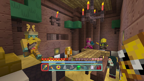 minecraft pe adventure time map download