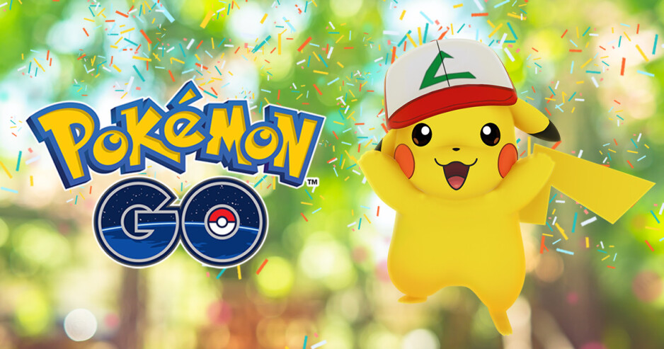 Pokemon GO celebrates one year anniversary with special Pikachu, limited time items
