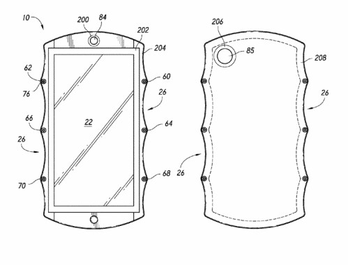 The only thing indicating the Hydrogen One announcement were these RED patents