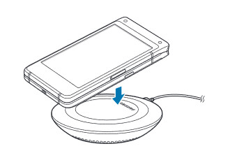 Wireless charging is a feature on the SM-G9298 - Manual for Samsung's Android powered flip phone (SM-G9298) leaks indicating an imminent launch