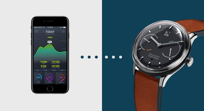 "Sequent is a kinetic self-charging smartwatch that promises ""infinite power"""