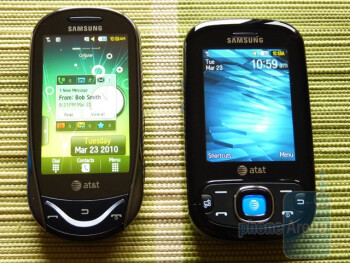 Hands on with the Samsung Strive and Sunburst