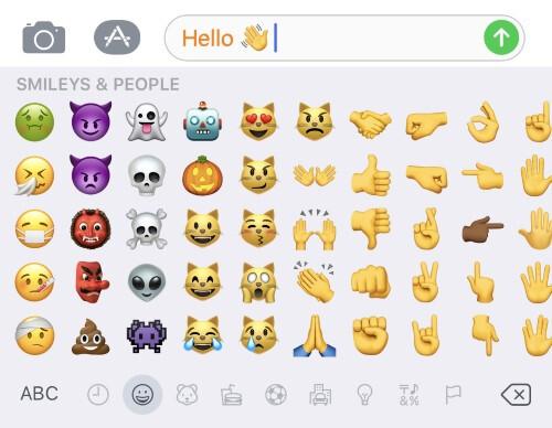 Add an emoji keyboard