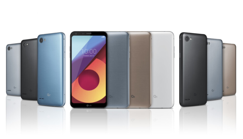 The LG Q6 is now official - It's official! LG Q6 is announced with three variants, each sporting FullVision Display