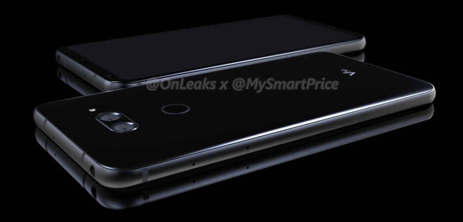 LG V30 renders based on CAD designs show the flagship from all angles