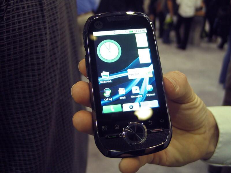 Motorola i1 - CTIA 2010: Live Report