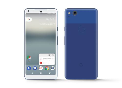 Google Pixel 2 renders and concepts