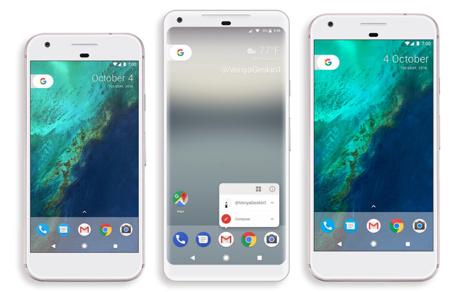 Phone by Google, vol. 2: 7 rumored features of the Pixel 2 and Pixel XL 2