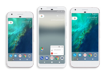 Pixel XL 2 size compared to current Pixel and Pixel XL, based on recent leak
