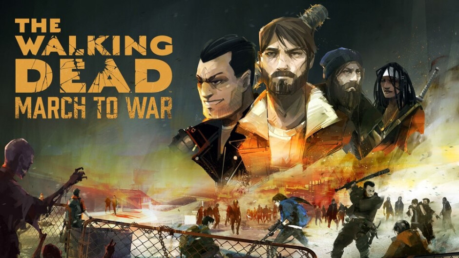 The Walking Dead: March to War sends its zombies to mobile devices this summer