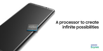 Are you sure we're meant to be looking at the processor, Samsung?