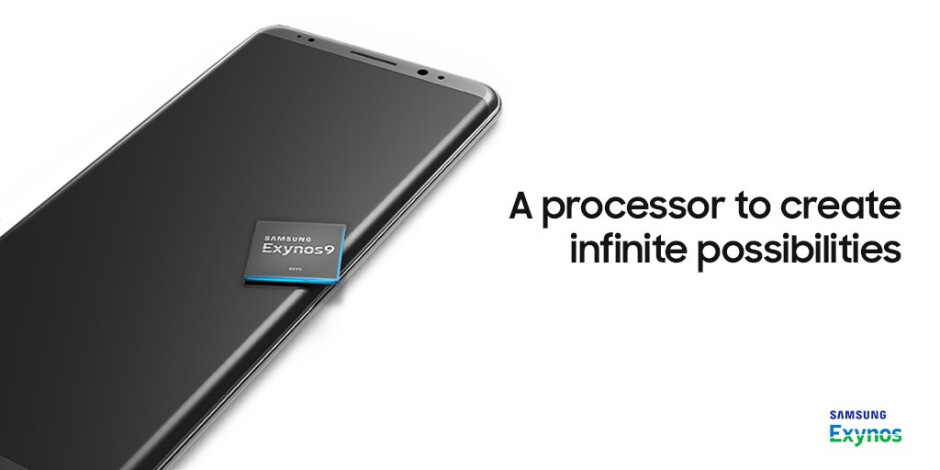 Are you sure we're meant to be looking at the processor, Samsung? - Samsung Galaxy Note 8 spotted in Samsung Exynos 9 teaser?