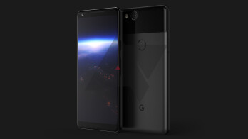 The Pixel XL 2 features a refined design with a tall, nearly bezel-less display