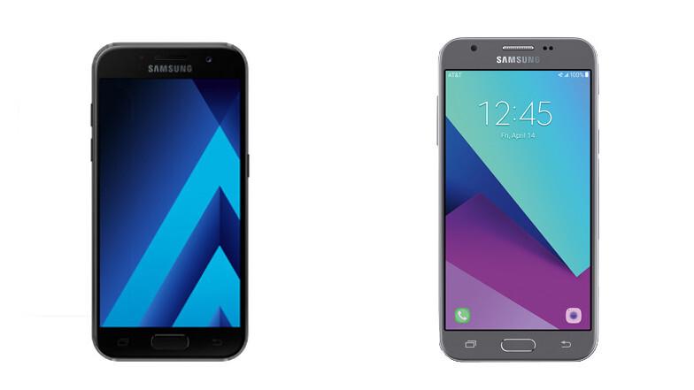 Samsung Galaxy A3 (2017) vs Samsung Galaxy J3 (2017) - The great Samsung 2017 mid-range series comparison: Galaxy A3, A5, A7 vs J3, J5, J7