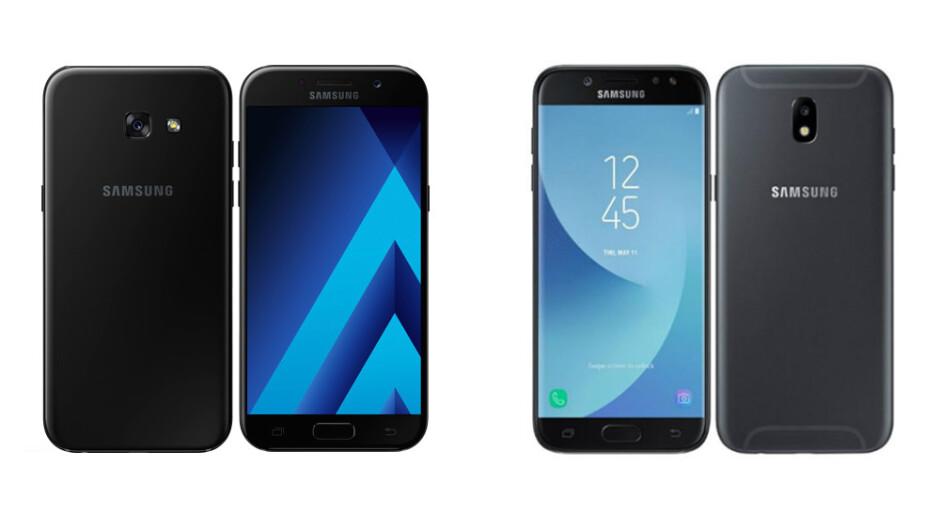 Samsung Galaxy A5 (2017) vs Samsung Galaxy J5 (2017) - The great Samsung 2017 mid-range series comparison: Galaxy A3, A5, A7 vs J3, J5, J7