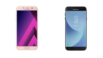 Samsung Galaxy A7 (2017) vs Samsung Galaxy J7 (2017)