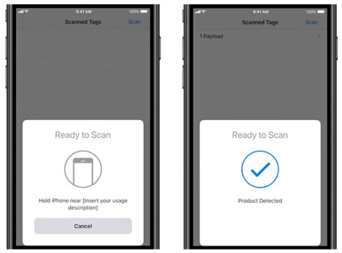 Core NFC will allow certain iPhone models to receive data from NFC tags