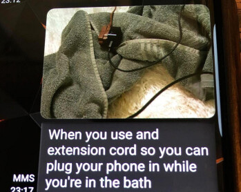 Last text message sent by Madison Coe just before she was electrocuted in the tub