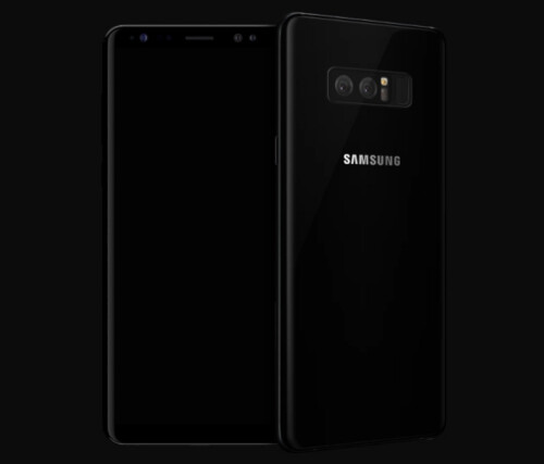 Allegedly, this is the Note 8 with no skins on it.